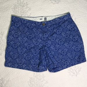 Shorts with Coral and shells
